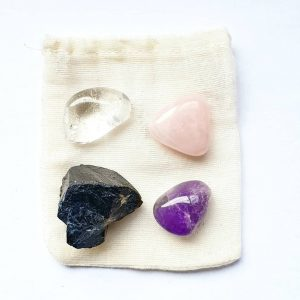 Beginner Crystal Kit with Tourmaline