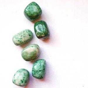 Green Jade crystals